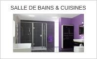 Acc�s aux vid�os : SALLE DE BAINS & CUISINES