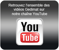 Cha�ne Gedimat sur YouTube